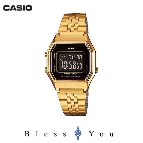 カシオ 腕時計 レディース スタンダード LA680WGA-1BJF