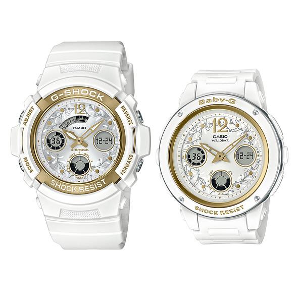 CASIO G-SHOCK カシオ ソーラー電波 腕時計 ペアウォッチ Gショック 2019年11月新作 ラバーズコレクション LOV-19A-7AJR 30,5