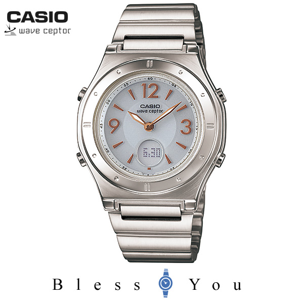 カシオ 腕時計 CASIO ウェーブセプター LWA-M141D-7AJF ソーラー電波時計 女性用 レディース