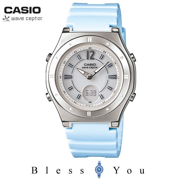 カシオ 腕時計 CASIO ウェーブセプター LWA-M142-2AJF レディース ソーラー電波時計