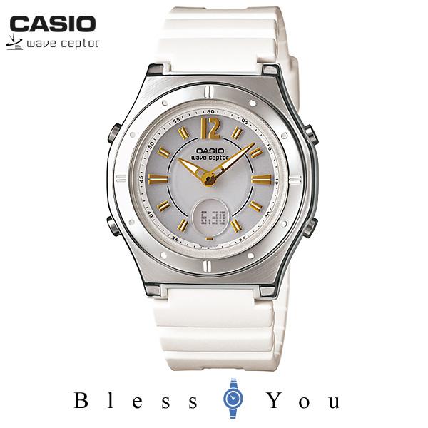 カシオ 腕時計 ウェーブセプター ソーラー電波時計 CASIO LWA-M142-7AJF レディース