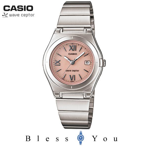 カシオ タフ ソーラー 電波時計 レディース ウェーブセプター WAVE CEPTOR LWQ-10DJ-4A1JF  20,0 女性用3針腕時計