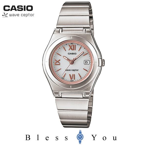 カシオ ウェーブセプター WAVE CEPTOR LWQ-10DJ-7A2JF 20,0 ソーラー電波時計 女性用3針 腕時計