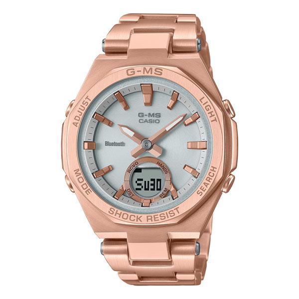 CASIO BABY-G カシオ ソーラー 腕時計 レディース ベビーG 2021年6月 MSG-B100DG-4AJF 38,5