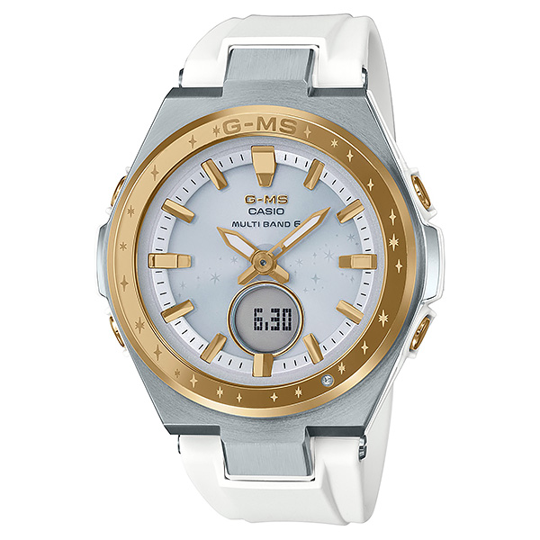 CASIO BABY-G カシオ ソーラー電波 腕時計 レディース ベビーG 2019年5月新作 25周年モデル 限定 MSG-W225-7AJR 33,0