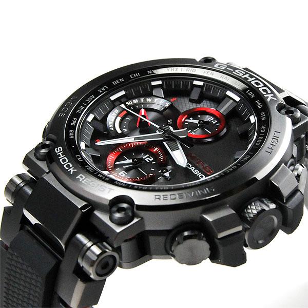CASIO G-SHOCK カシオ ソーラー電波 腕時計 メンズ Gショック 2018年6月新作 MTG-B1000B-1AJF 100,0