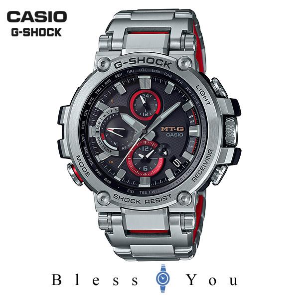 CASIO G-SHOCK カシオ 電波ソーラー メンズ Gショック 2018年10月新作 MTG-B1000D-1AJF 100,0