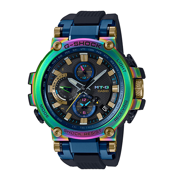 CASIO G-SHOCK カシオ ソーラー電波 腕時計 メンズ Gショック 2019年5月新作 MT-G MTG-B1000RB-2AJR 115,0