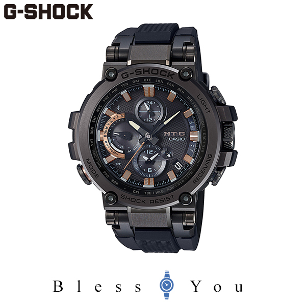 G-SHOCK Gショック ソーラー電波 腕時計 メンズ CASIO カシオ 2020年5月 MT-G MTG-B1000TJ-1AJR 110,0