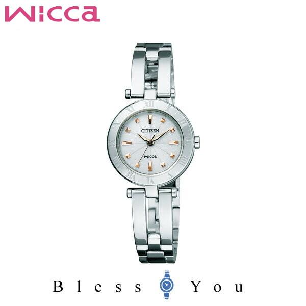 シチズン CITIZEN ウィッカ wicca ソーラーテック レディース 腕時計 NA15-1572C