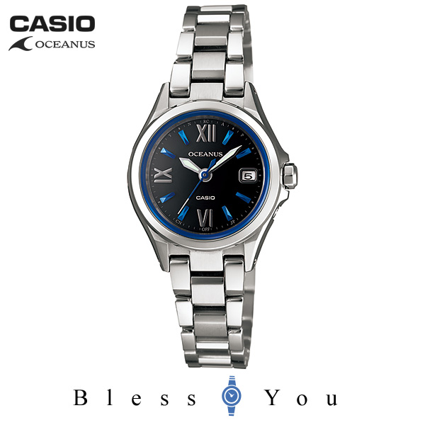 CASIO OCEANUS カシオ ソーラー電波 腕時計 レディース OCW-70J-1AJF 68,0