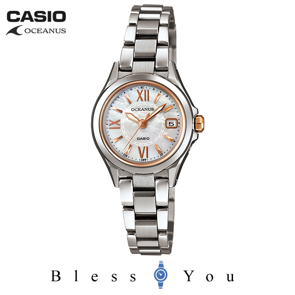 CASIO OCEANUS カシオ ソーラー電波 腕時計 レディース OCW-70PJ-7A2JF 70,0