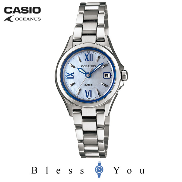 CASIO OCEANUS カシオ ソーラー電波 腕時計 レディース OCW-70PJ-7AJF 70,0