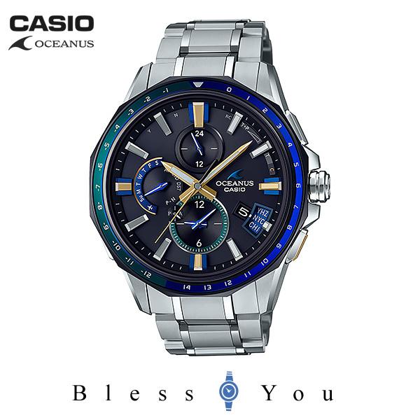 CASIO OCEANUS カシオ ソーラー電波 腕時計 メンズ オシアナス 2019年2月新作 春限定 3way GPS OCW-G2000J-1AJF 230,0