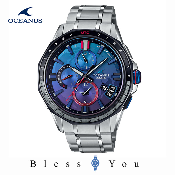 CASIO OCEANUS カシオ ソーラー電波 腕時計 メンズ オシアナス 2019年10月新作 宇宙兄弟 限定モデル OCW-G2000SB-2AJR 250,0