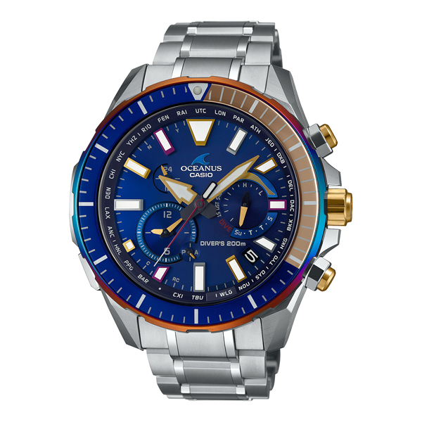 CASIO OCEANUS カシオ ソーラー電波 腕時計 メンズ オシアナス 2020年11月新作 OCW-P2000D-2AJF 250,0
