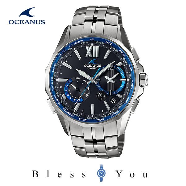 CASIO OCEANUS カシオ ソーラー電波 腕時計 メンズ OCW-S3400-1AJF 180,0