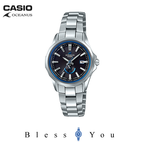CASIO OCEANUS カシオ 電波ソーラー 腕時計 レディース オシアナス 2018年11月新作 マンタ OCW-S350-1AJF 140,0