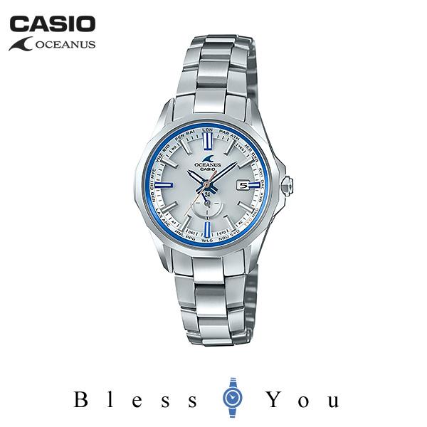 CASIO OCEANUS カシオ 電波ソーラー 腕時計 レディース オシアナス 2018年11月新作 マンタ OCW-S350F-7AJF 145,0