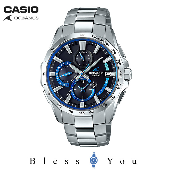 CASIO OCEANUS カシオ ソーラー電波 腕時計 メンズ オシアナス 2018年6月新作 OCW-S4000-1AJF 160,0