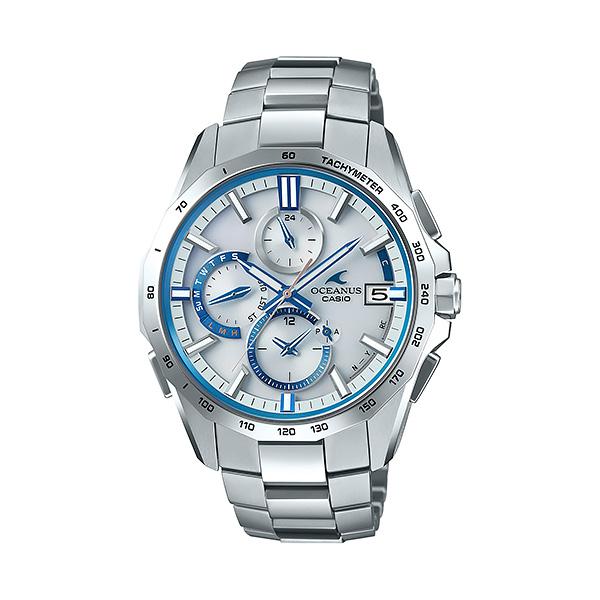 CASIO OCEANUS カシオ 電波ソーラー 腕時計 メンズ オシアナス 2018年11月新作 マンタ OCW-S4000F-7AJF 165,0