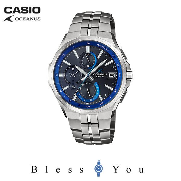 CASIO OCEANUS カシオ ソーラー電波 腕時計 メンズ オシアナス 2019年6月新作 MANTA OCW-S5000-1AJF 170,0