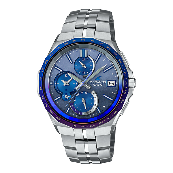 CASIO OCEANUS カシオ ソーラー電波 腕時計 メンズ オシアナス 2020年11月新作 OCW-S5000AP-2AJF 235,0