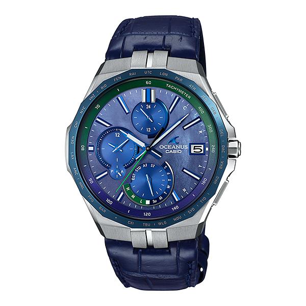 CASIO OCEANUS カシオ ソーラー電波 腕時計 メンズ オシアナス 2020年11月新作 OCW-S5000APL-2AJF 210,0