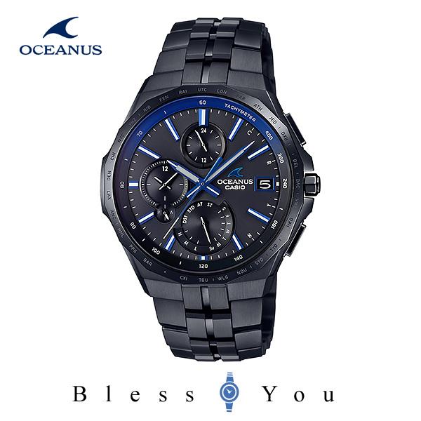 CASIO OCEANUS カシオ ソーラー電波 腕時計 メンズ オシアナス マンタ 2020年2月新作 OCW-S5000B-1AJF 200,0