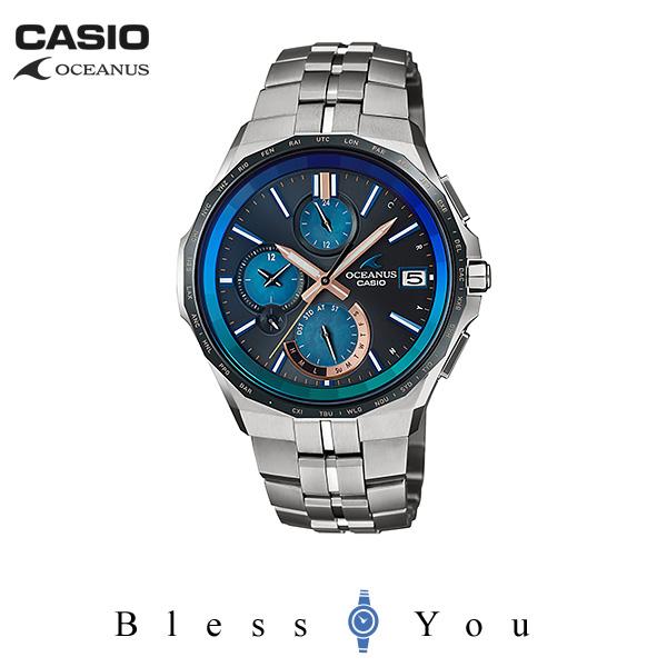 CASIO OCEANUS カシオ ソーラー電波 腕時計 メンズ オシアナス 2019年6月新作 MANTA 15周年限定 OCW-S5000C-1AJF 220,0