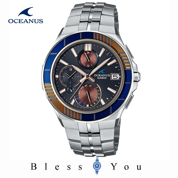 CASIO OCEANUS カシオ ソーラー電波 腕時計 メンズ オシアナス 2019年10月新作 MANTA 限定 OCW-S5000D-1AJF 230,0