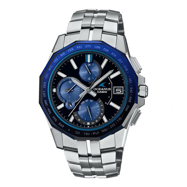 CASIO OCEANUS カシオ ソーラー電波 腕時計 メンズ オシアナス 2021年10月 OCW-S6000-1AJF 250,0