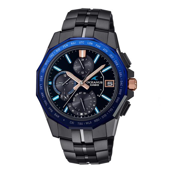 CASIO OCEANUS カシオ ソーラー電波 腕時計 メンズ オシアナス 2021年10月 OCW-S6000B-1AJF 280,0