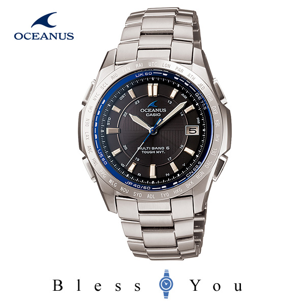 ソーラー 電波  [カシオ]CASIO 腕時計 OCEANUS オシアナス OCW-T100TD-1AJF メンズウォッチ 新品お取寄せ品
