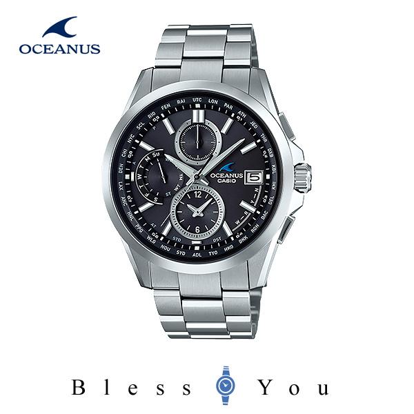 CASIO OCEANUS カシオ ソーラー電波 腕時計 メンズ オシアナス 2018年3月新作 OCW-T2600-1A2JF 100,0