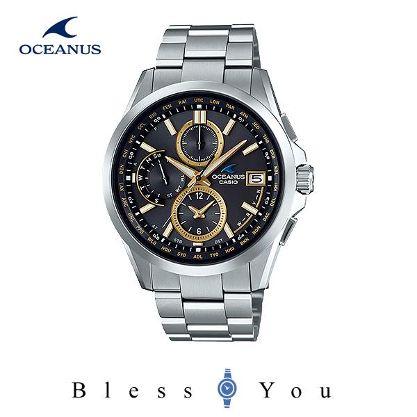 CASIO OCEANUS カシオ ソーラー電波 腕時計 メンズ オシアナス 2018年3月新作 OCW-T2600-1A3JF 100,0
