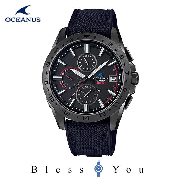 CASIO OCEANUS カシオ ソーラー電波 腕時計 メンズ オシアナス 2020年6月新作 OCW-T3000BRE-1AJR 135,0