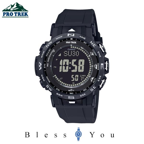 CASIO PRO TREK カシオ 電波ソーラー 腕時計 メンズ プロトレック 2020年8月新作 PRW-30Y-1BJF 42,0