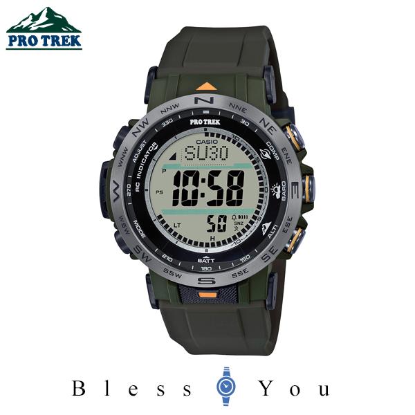 CASIO PRO TREK カシオ 電波ソーラー 腕時計 メンズ プロトレック 2020年8月新作 PRW-30Y-3JF 42,0