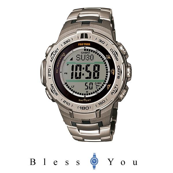 CASIO PROTREK カシオ プロトレック ソーラー電波 高度計 メンズ 腕時計 PRW-3100T-7JF 54,0