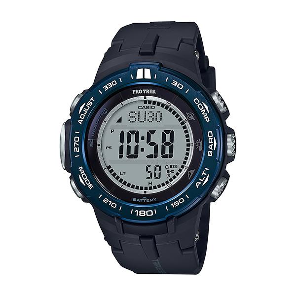 CASIO PRO TREK カシオ 電波ソーラー 腕時計 メンズ プロトレック 2018年11月新作 PRW-3100YB-1JF 42,0