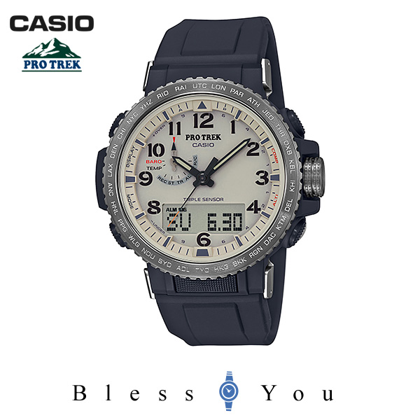 CASIO PRO TREK カシオ ソーラー電波 腕時計 メンズ プロトレック 2019年6月新作 クライマーライン PRW-50Y-1BJF 54,0