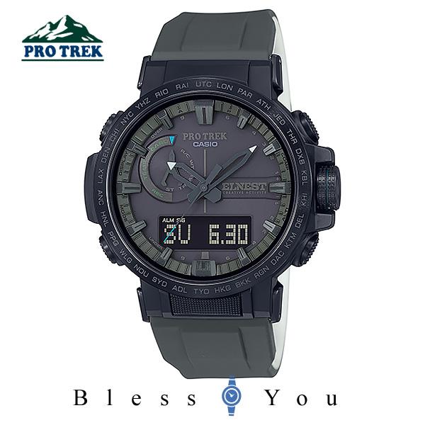 CASIO PRO TREK カシオ ソーラー電波 腕時計 メンズ プロトレック 2019年10月新作 ELNEST CREATIVE ACTIVITY PRW-60ECA-1AJR 62,0