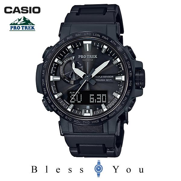 CASIO PRO TREK カシオ 電波ソーラー 腕時計 メンズ プロトレック 2018年11月新作 PRW-60FC-1AJF 74,0