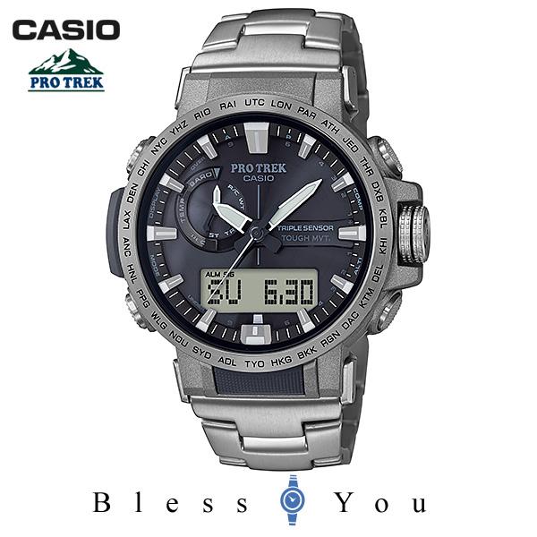 CASIO PRO TREK カシオ 腕時計 メンズ プロトレック 2018年8月新作 PRW-60T-7AJF 64,0