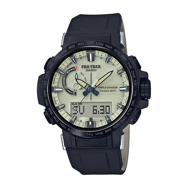 CASIO PRO TREK カシオ 電波ソーラー 腕時計 メンズ プロトレック 2018年11月新作 PRW-60YGE-1AJR 59,0