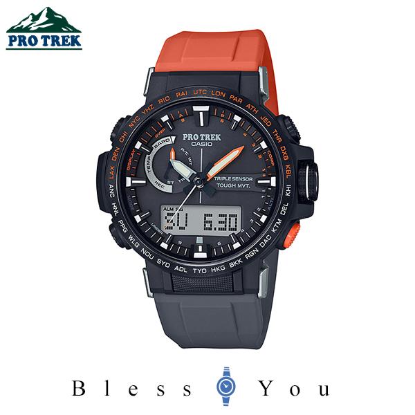 CASIO PRO TREK カシオ 電波ソーラー 腕時計 メンズ プロトレック 2020年5月 PRW-60YJP-1JR 61,0