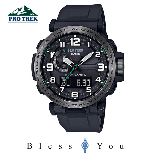 CASIO PROTREK カシオ ソーラー電波 腕時計 メンズ プロトレック  2018年3月新作 PRW-6600Y-1JF 52,0