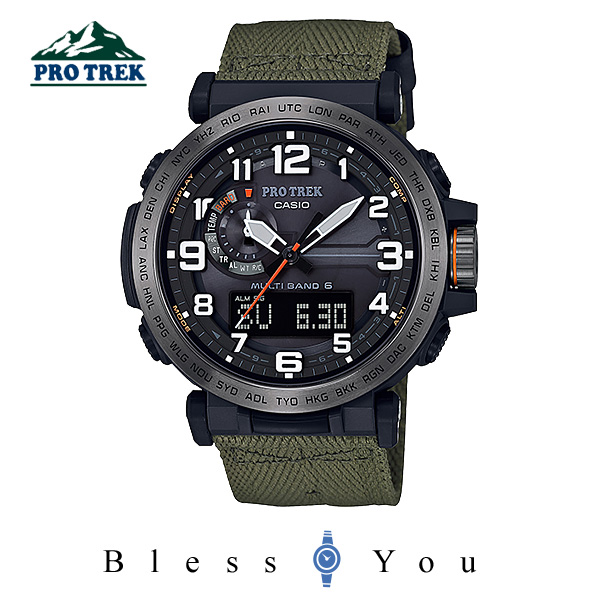 CASIO PROTREK カシオ ソーラー電波 腕時計 メンズ プロトレック  2018年3月新作 PRW-6600YB-3JF 52,0