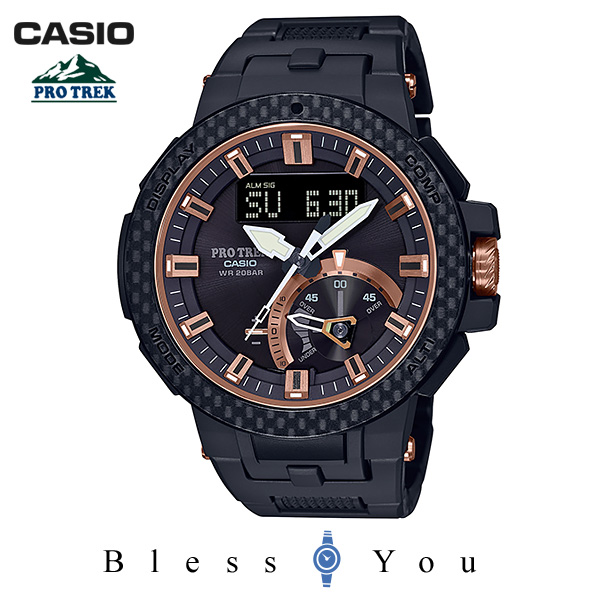 CASIO PRO TREK カシオ ソーラー電波 腕時計 メンズ プロトレック 2019年5月新作 トリプルセンサー 限定 PRW-7000X-1JR 110,0